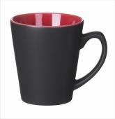 Kubek V-Shape czarno czerwony