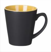 Kubek V-Shape czarno żółty