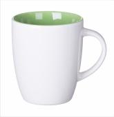 Kubek SPECIAL LINE biało zielony