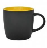 Kubek DURAN czarno - żółty