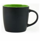Kubek DURAN czarno - zielony