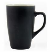 Kubek QUEEN czarno - biały