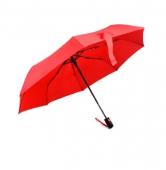 Parasol składany LEEDS czerwony