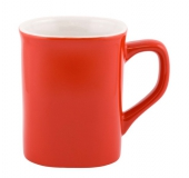 Kubek CAFE LINE czerwono-biały