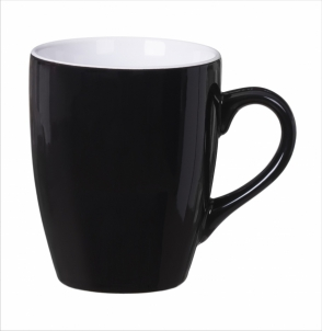 Kubek KULT LINE czarno-biały