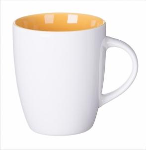 Kubek SPECIAL LINE biało żółty