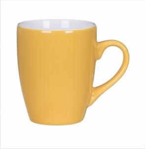 Kubek KULT LINE żółto-biały