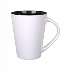 Kubek Izzy biało/czarny