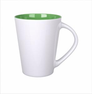 Kubek Izzy biało/zielony