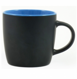 Kubek DURAN czarno - niebieski