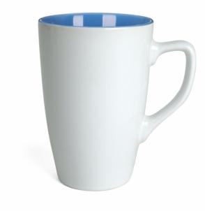 Kubek QUEEN biało - niebieski